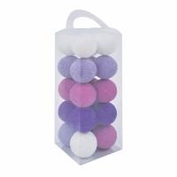 Purple Cotton Light Ball