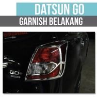 Garnish Garnis List Lampu Belakang Chrome Datsun Go + Panca