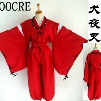 baju tradisional kostum costume hakama yukata inuyasha jepang anime