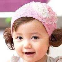 wig bando bandana pita Headband bayi anak balita impor BHA1025