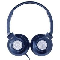 Audio-Technica ATH-S500  Street Monitoring Headphones  Navy