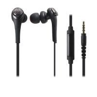 Audio-Technica ATH-CKS550iS (EX) Solid Bass In-Ear Headphones – BK