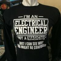 kaos lengan panjang/t shirt keren ELECTRICAL ENGINEER