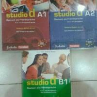 Studio D A1,A2 dan B1 Buku Bahasa Jerman Plus CD