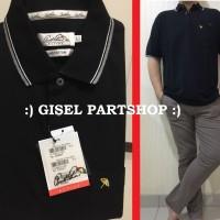 Polo Shirt ARNOLD PALMER Original hitam bahan Cotton size S-XXL