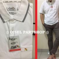 Polo Shirt ARNOLD PALMER Original Putih bahan Cotton size S-XXL