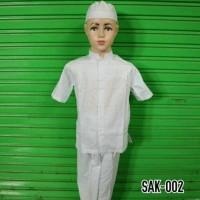 Baju Muslim Anak Setelan Koko Bayi Balita Lengan Pendek Berkualitas