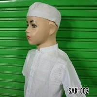 Baju Muslim Anak Setelan Koko Bayi Balita Lengan Pendek Murah