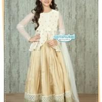baju anak murah / sari india senshukei / baju anak muslim 3in1