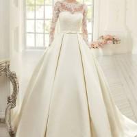 kain/bahan Satin Bridal Silk Jepang