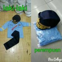 baju / seragam anak TNI-AU / kostum karnaval