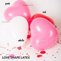 Balon Latex Hati / Love Latex 11inch