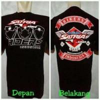 kaos t-shirt baju motor satria fu 001