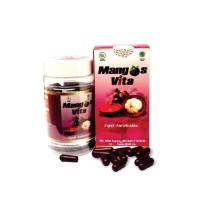 Mangosvita 500 mg 60 kapsul Ekstrak Kulit Manggis Anti Oksidan