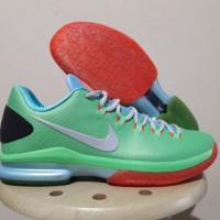 Sepatu Basket Nike KD 5 Elite Green Pink Hijau Merah Muda