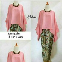 SET KEBAYA BATWING SALEM (ks)