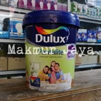 Dulux Pentalite Pure White 20L Pail Putih Cat Tembok Interior