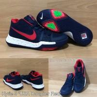 Sepatu Basket Nike Kyrie 3 Dark Blue Red Navy Biru Dongker Merah