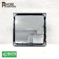 ELITE Floor Drain Isi Keramik Pembuangan Air Chrome Bahan Kuningan