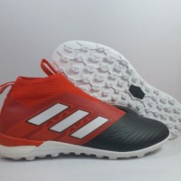 sepatu futsal adidas ace 17+ purecontrol merah hitam tf grade ori impo