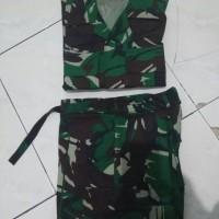 baju setelan pdl TNI loreng malvinas
