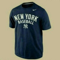 kaos newyork base ball/newyork base ball black/tees/tshirt/shirt