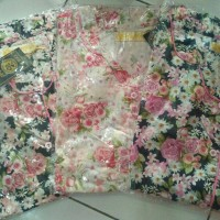 Piyama Katun Jepang#Hoki & Sheila 3/4 Gold#Baju Tidur Wanita