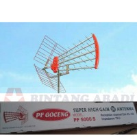 PF Goceng S Antena TV Outdoor Super High Gain UHF Antenna PF 5000 S