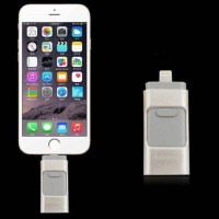 Flashdisk Drive OTG 3in1 Iphone Apple Android PC 16GB