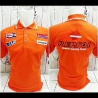 kaos kerah/polo shirt REPSOL HONDA RACING TEAM terlaris