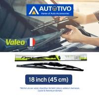 Wiper Mobil Valeo Ukuran 18 Inci (450 mm)