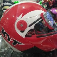 HELM KYT X-ROCKET WH/RED
