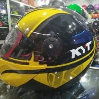 HELM KYT X-ROCKET YELLOW/BK
