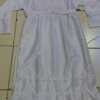 Baju muslim anak / Gamis putih polos