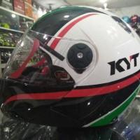 HELM KYT X-ROCKET WH/BK/RD