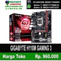 GIGABYTE H110M GAMING 3 TERMURAH