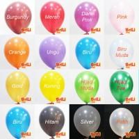 Balon Latex Metalic | Balon Karet Lateks Metalik 11 inch