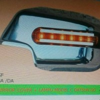 Cover spion Datsun Go Chrome with lampu