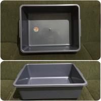 Bak Plastik Kotak KOMET STAR PxLxT = 39x31x12cm untuk Kit Hidroponik