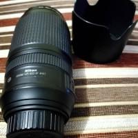 lensa tele nikor 70-300mm nikon AF -S 70-300mm f4.5.5-5.6G  VR ED