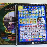 MAINAN ANAK PLAYPAD ANAK MUSLIM 4 BAHASA WITH LED PLAY PAD ARAB
