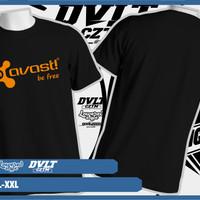 Kaos/T-shirt Gadget Avast Internet Security Logo Murah