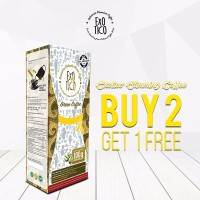 Buy2 Get1 Free Exotico Green Coffee