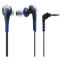 Audio Technica Solid Bass In-Ear Headphones ATH-CKS550iS BL (EX) Biru