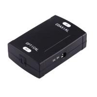 V-TECH Digital Coaxial RCA to Optical Toslink Digital Audio Converter