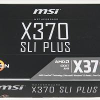 MSI X370 SLI Plus DDR4 Socket AM4