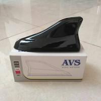 Antena Sirip Hiu Silver Model Aero / Sharkfin Antenna Mobil