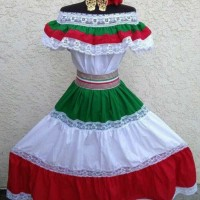 baju adat / tradisional / khas mexico meksiko anak kostum costume