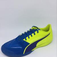 Sepatu futsal puma original Ivictor 2 Stabilo biru new 2017