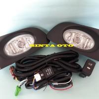 Fog Lamp Lampu Kabut Honda Jazz 2004 2005 2006 2007 Komplit Kabel Set